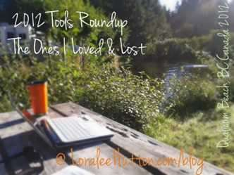 2012 Web Tools Roundup -The ones I loved and lost