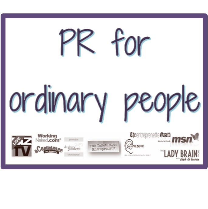 PR for Ordinary People