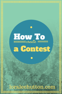 How To Create a Contest