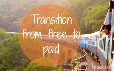 How to Transition from Free to PAID!
