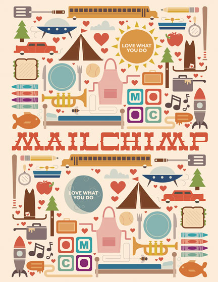 mailchimp coloring book