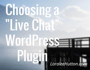 Choose Live Chat WordPress Plugin