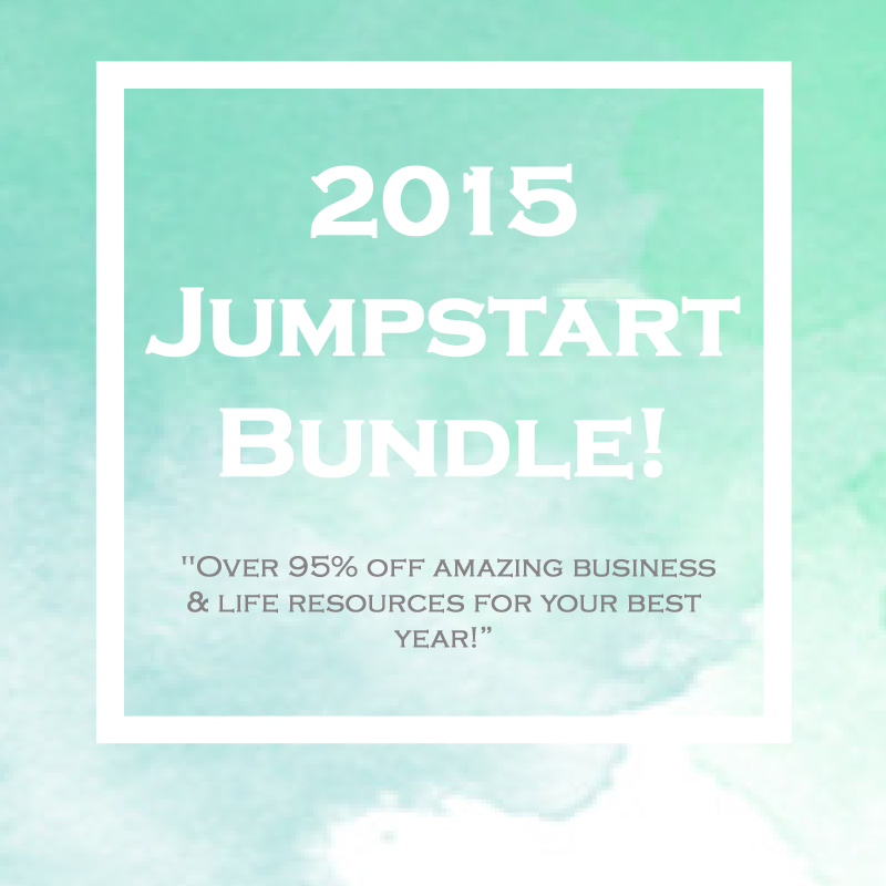 2015 Jumpstart Bundle 95 percent off