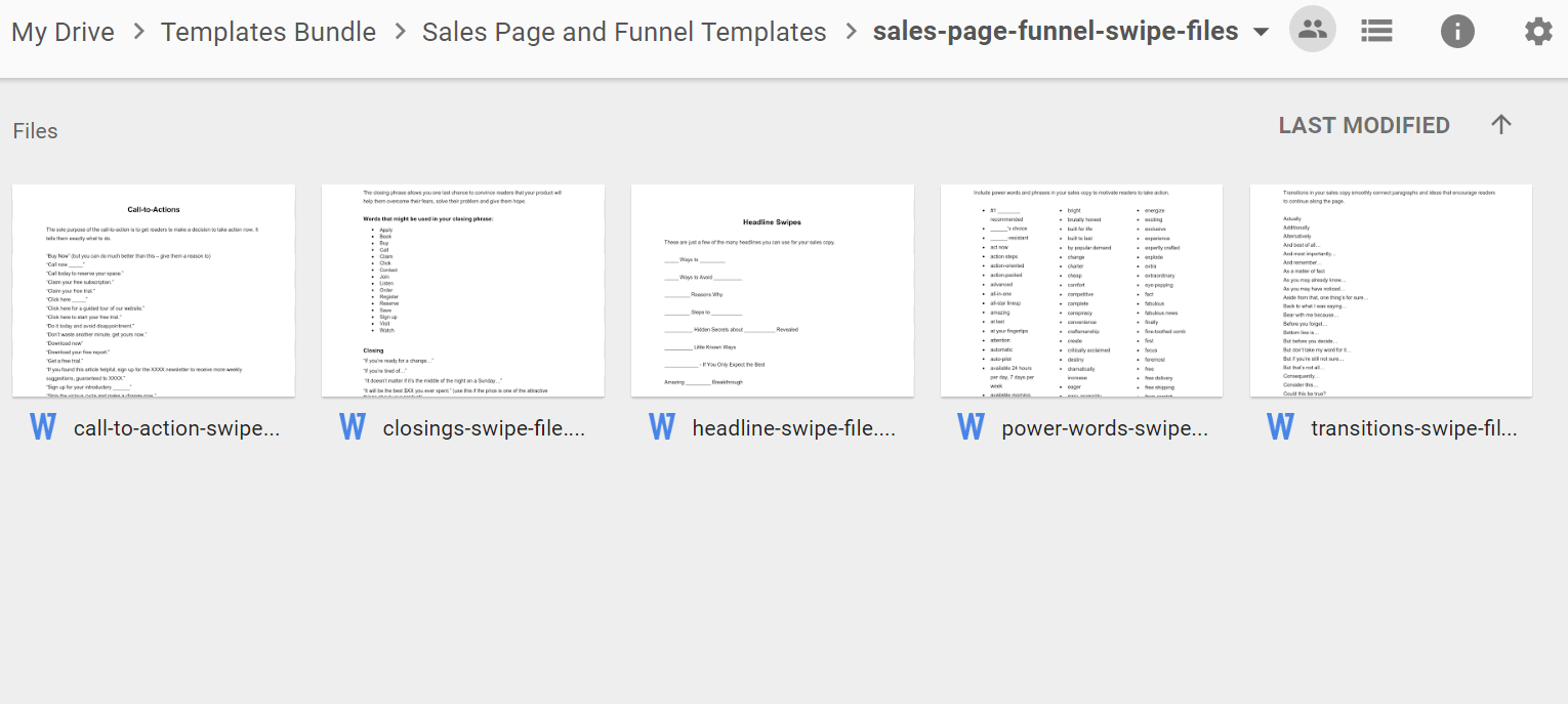 Sales-Page-Funnel-Swipes