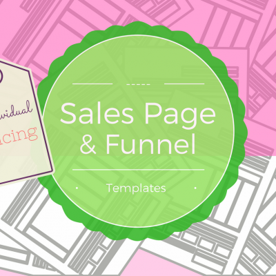 template-sales-page